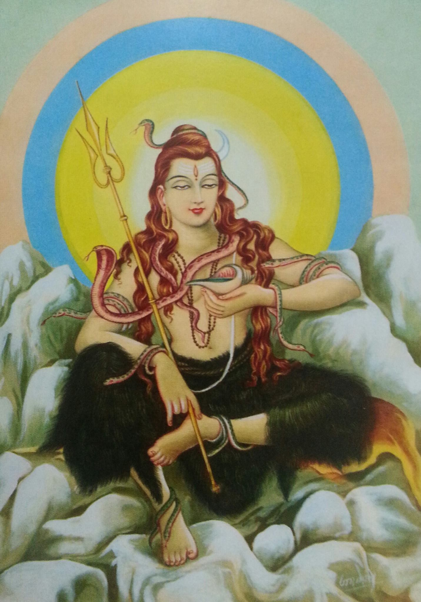 Here you will find Shiva pictures and